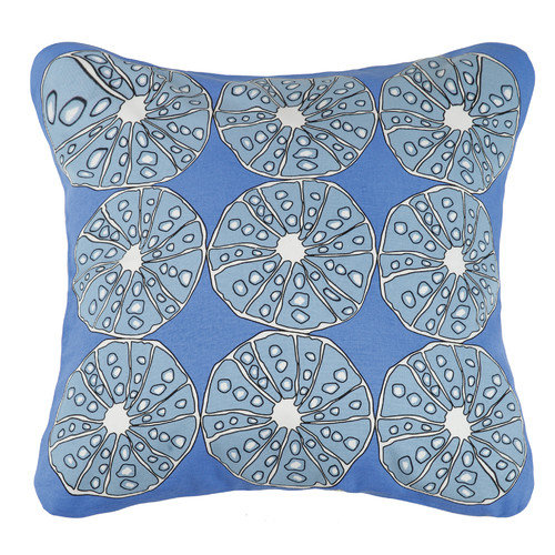 Kate Nelligan Urchins Outdoor Cotton Throw Pillow