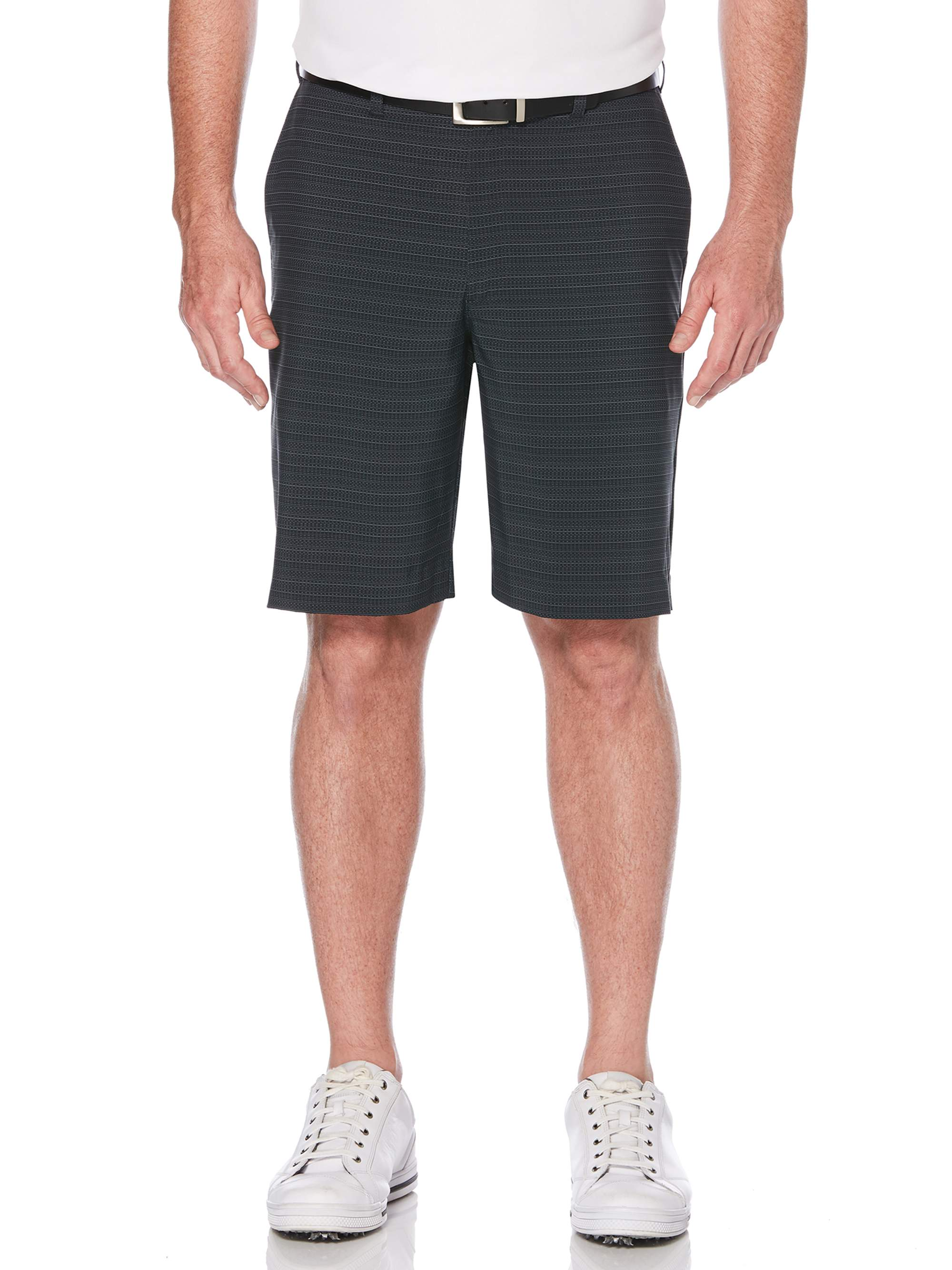 Men's Performance Textured Active Flex Waistband 4-Way Stretch Golf Short