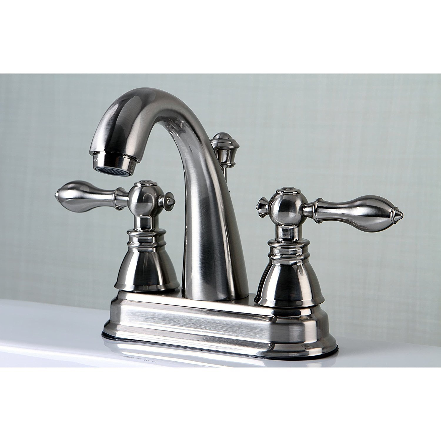 Kingston Brass American Classic Satin Nickel Bathroom Faucet