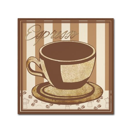 Trademark Fine Art 'Espresso' Canvas Art by Masters Fine (Fine Art Express)