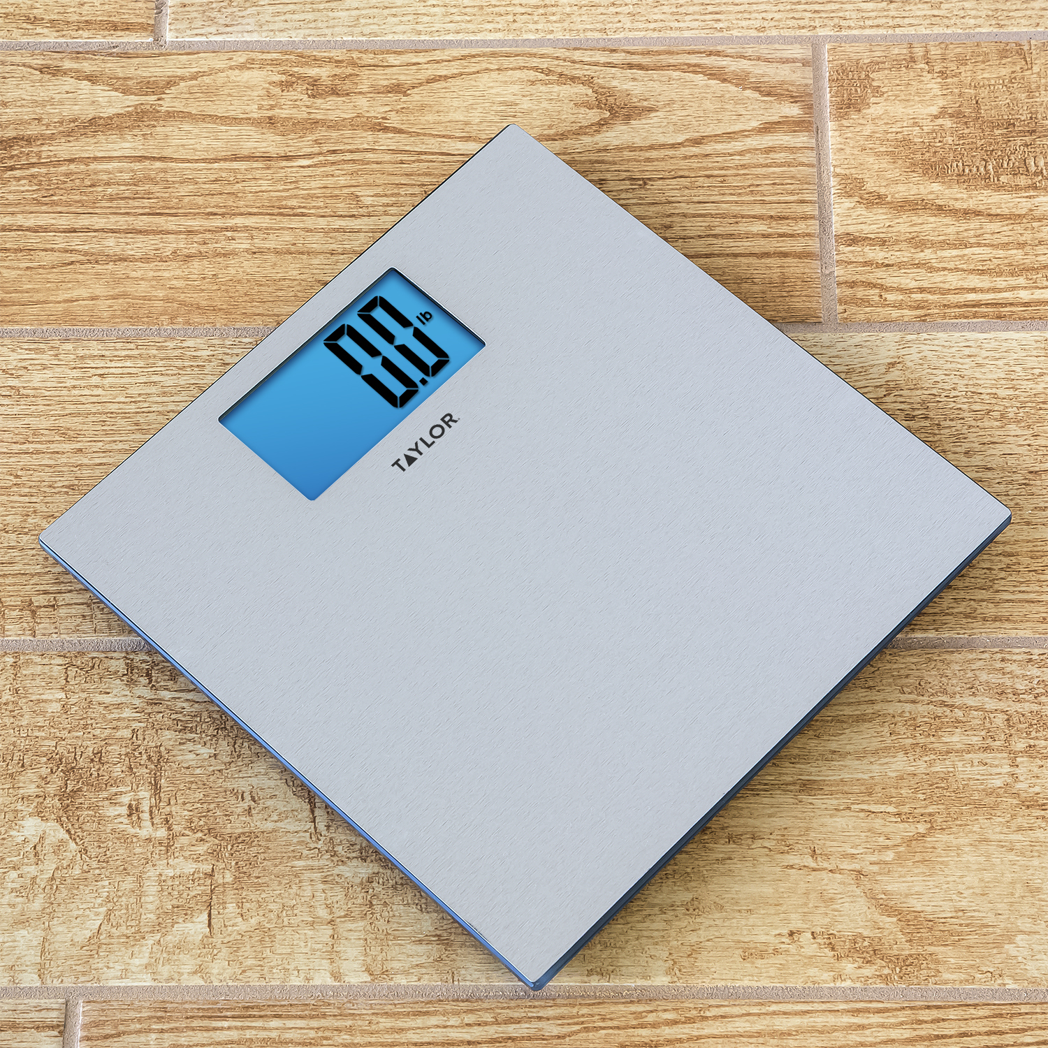 Taylor 7413 Textured Stainless Steel Digital Scale - Walmart.com