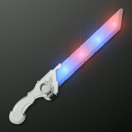 FlashingBlinkyLights Galaxy Hero Sci Fi Sword with Blue and Red Blinking - Sci Fi Costume