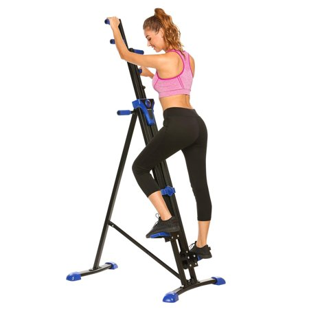 Vertical Climber Stepper 2 In 3 Exercise Fitness Foldable Climbing Machine