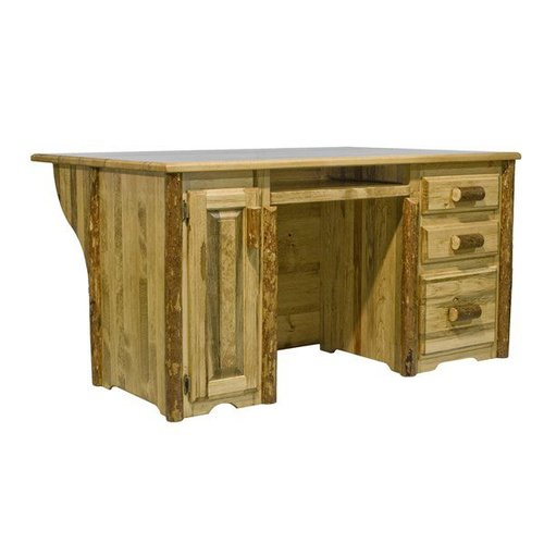 Montana Woodworks MWGCDEP Glacier Country Executives Computer Desk