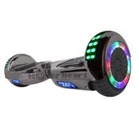 6.5-in Hoverboard Bluetooth Speaker LED STAR FLASHING WHEELS Scooter Deals