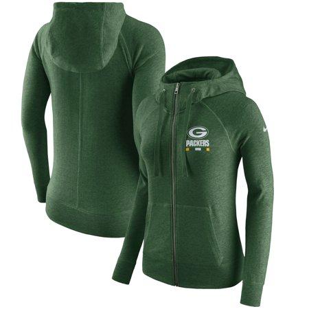 Green Bay Packers Nike Women s Gym Vintage Full-Zip Hoodie - Green -  Walmart.com c2ee6100a5