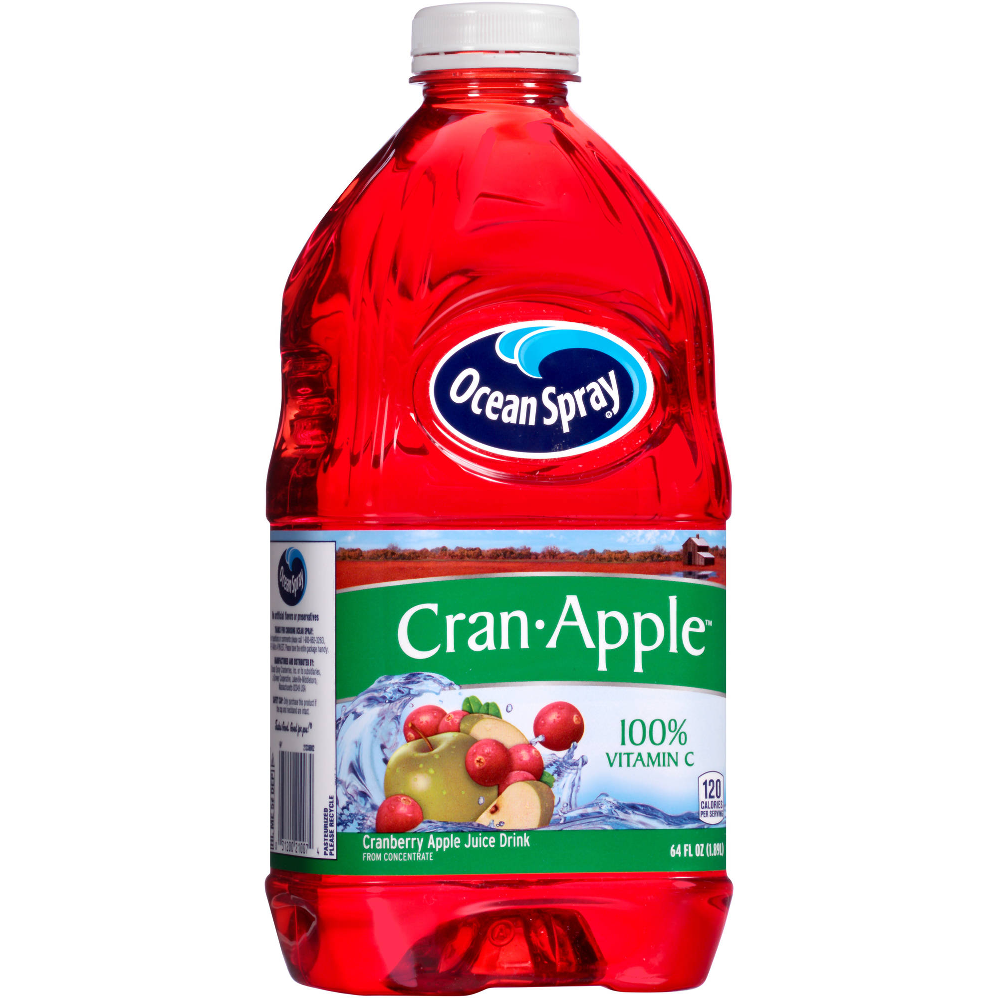 Ocean Spray: Cran-Apple Juice Drink, 64 Fl oz