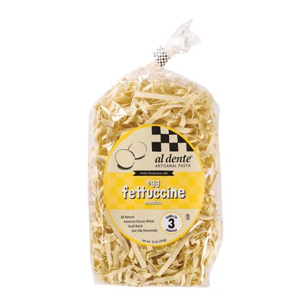Al Dente Fettucine - Egg - Pack of 6 - 12 Oz.