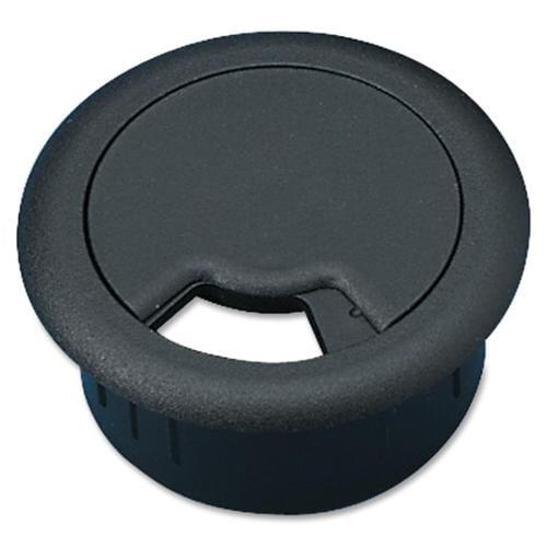 Master Adjustable Cable Management Grommet - Grommet - Black - 1 Pack