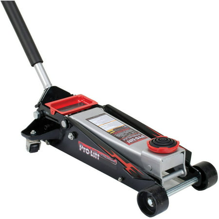 Pro-Lift G-737 Grey Speedy Lift Garage Jack, 3-1/2-Ton Capacity