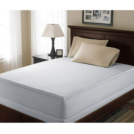 "Image of Canopy 1.5"" Hypoallergenic Memory Foam Mattress Topper, Full"