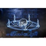 Hot Stuff Enterprise Z015-24x36-NA Him Light Skull Poster