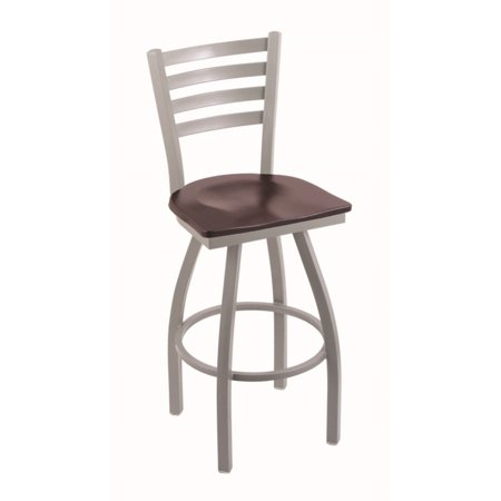Holland Bar Stool Jackie 30 in. Swivel Bar Stool with Wood Seat