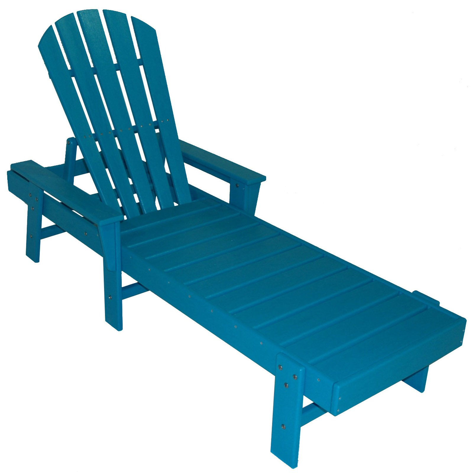POLYWOODu0026reg; South Beach Recycled Plastic Chaise Lounge   Walmart.com