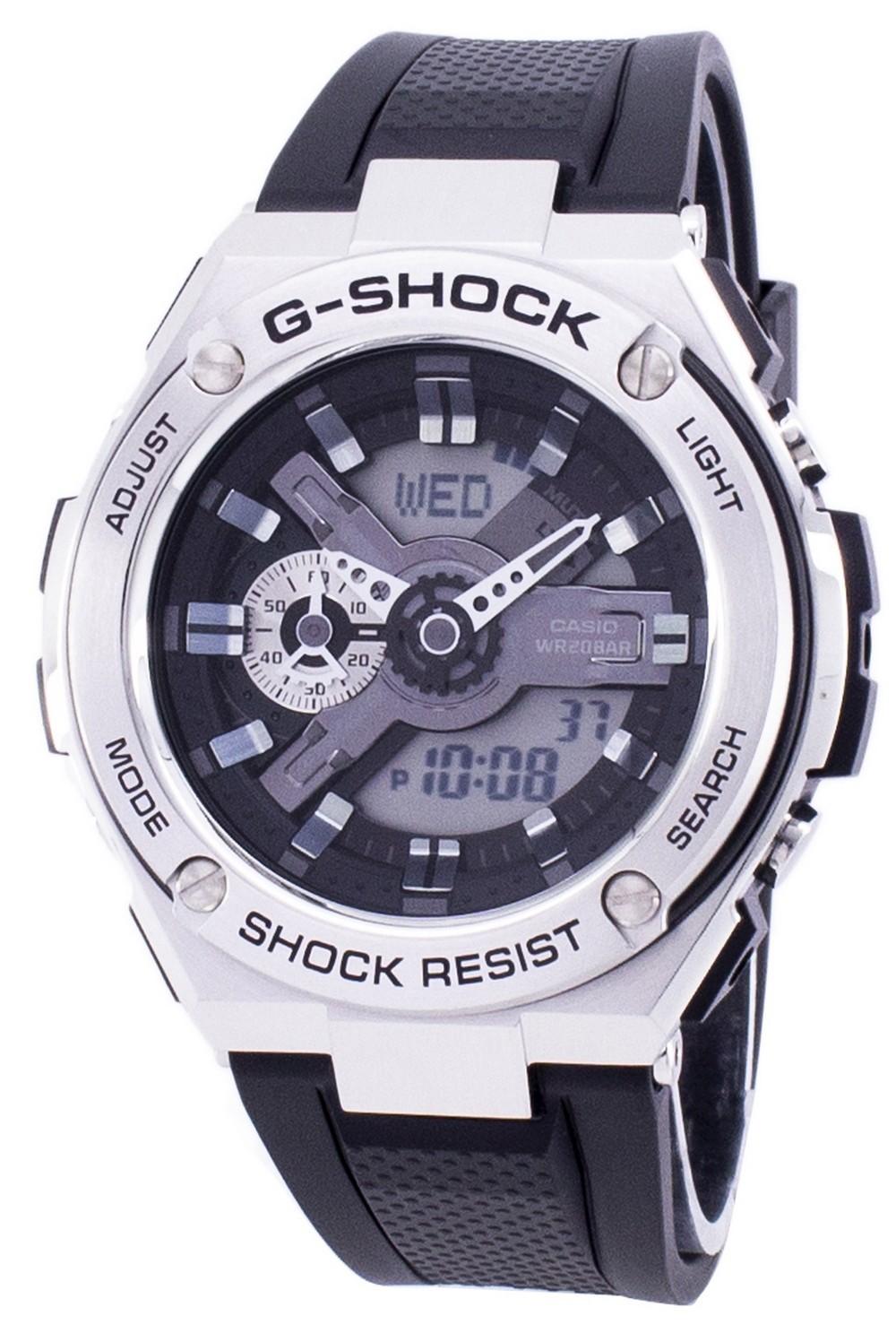 Casio G-Shock G-Steel Shock Resistant 200M GST-410-1A GST410-1A Mens Watch