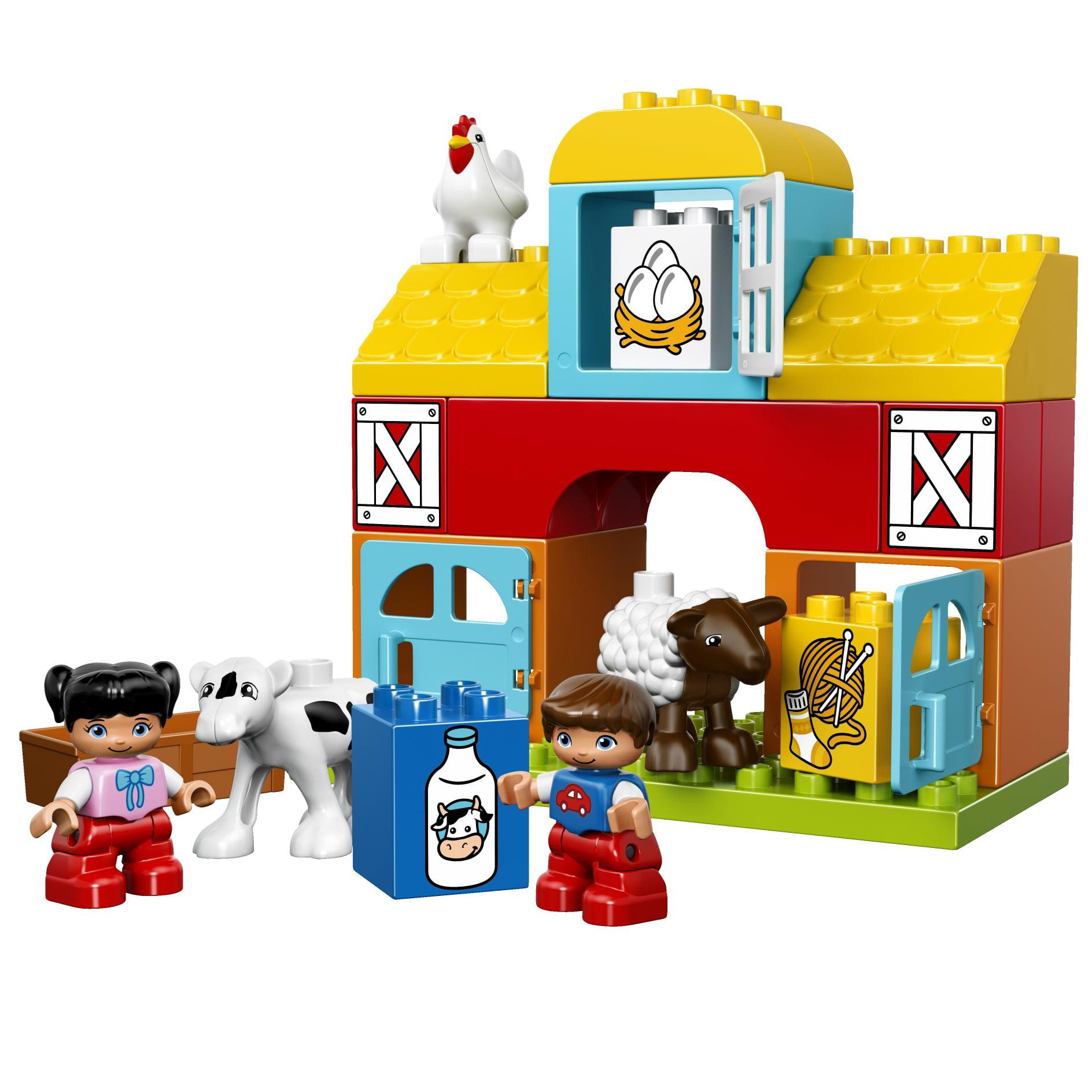 Lego Duplo My First Farm and Animals Building Blocks, 26 ...