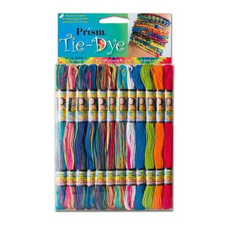 DMC PRISM-TIE Prism Cotton 6 Strand Floss Craft Thread, Tie Dye,