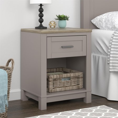 Ameriwood Home Carver Nightstand, Multiple Colors