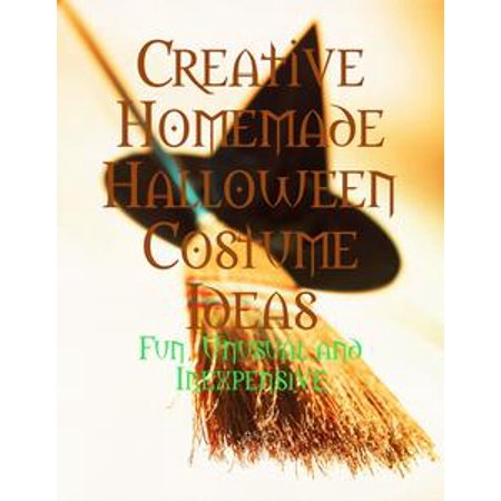 Creative Homemade Halloween Costume Ideas - Fun, Unusual and Inexpensive - eBook - Halloween Bookshelf Ideas