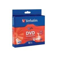 Verbatim - 5 x DVD-R - 4.7 GB 8x - slim jewel case