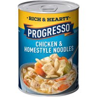 (4 pack) Progresso Hearty Chicken & Homestyle Noodles Soup 19 oz