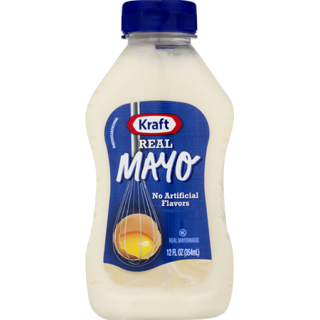 Kraft Mayo Mayonnaise Real  12 Fl Oz  Bottle