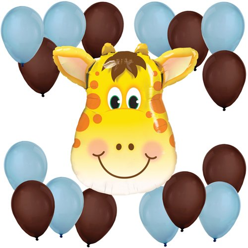 Boy Jolly Giraffe Balloon Kit