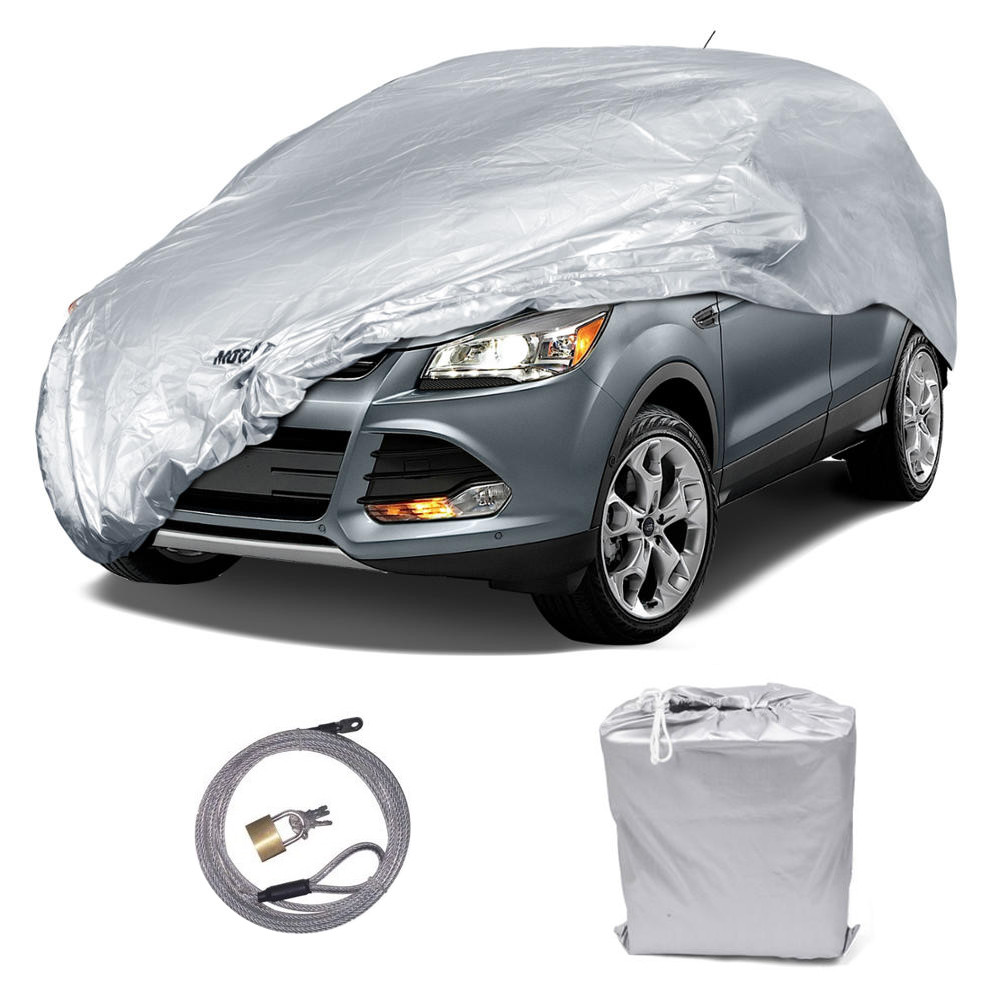 Moto Trend SUV & Van Cover - 1 Poly Payer, Water Resistant, UV Proof - In and Outdoor Protection