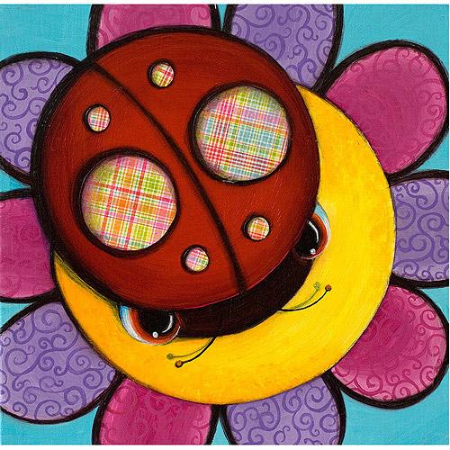 "Trademark Fine Art ""Little Lady"" Canvas Art by Sylvia Masek"