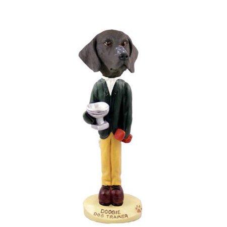 German Short Haired Pointer Trainer Doogie Collectable Figurine