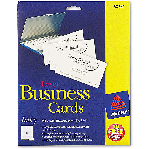 Avery 5376 Perforated Business Card