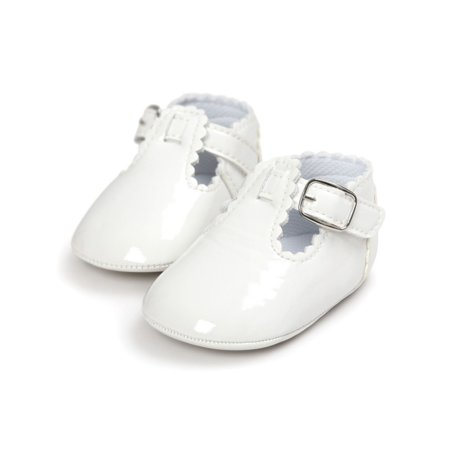 Infant Baby Girl Crib Princess Shoes Anti-Slip Newborn 0-18M