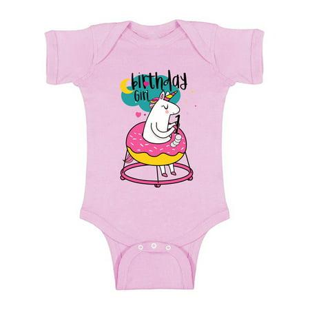 Awkward Styles First Birthday Baby Girl Unicorn Romper Short Sleeve Unicorn Themed Party 1st Birthday Baby Girl One Piece Top Cute Baby Shower Gifts Unicorn First Birthday Outfit for Baby Girl](Baby Girl 1st Birthday Party Themes)