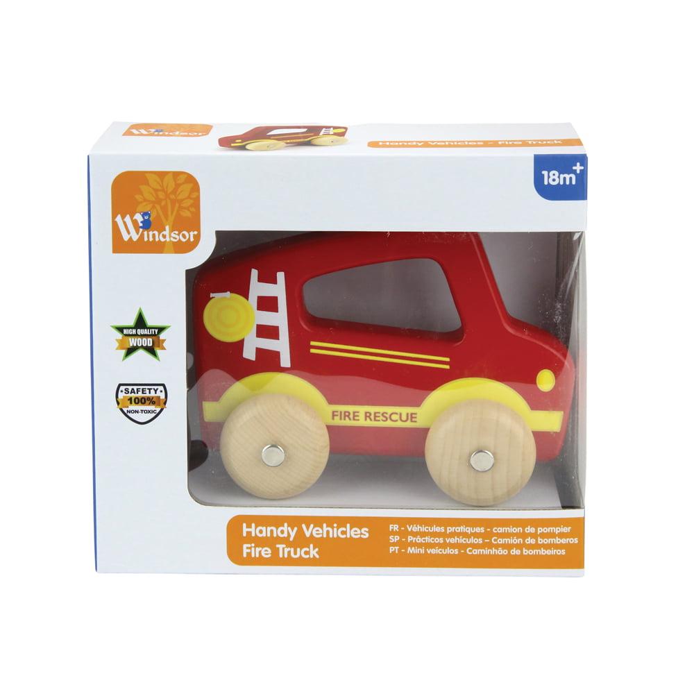 Windsor Handy Vehicle Toy, Firetruck
