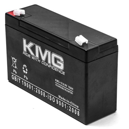 KMG 6V 10Ah Replacement Battery for TECHNACELL EP6100 EP610026 EP610036 - image 1 of 3
