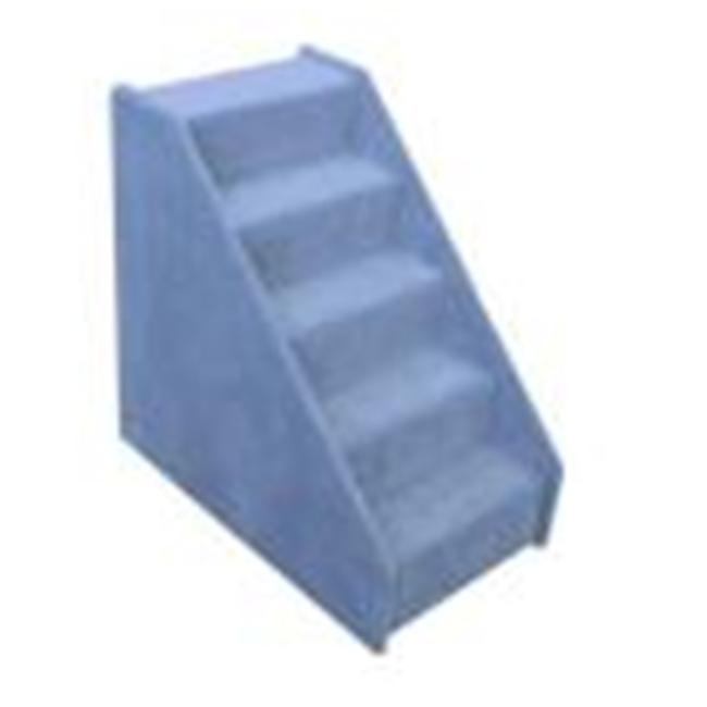Essential Pet Products MINI5BL Mini 5 Step Pet Stairs   Blue
