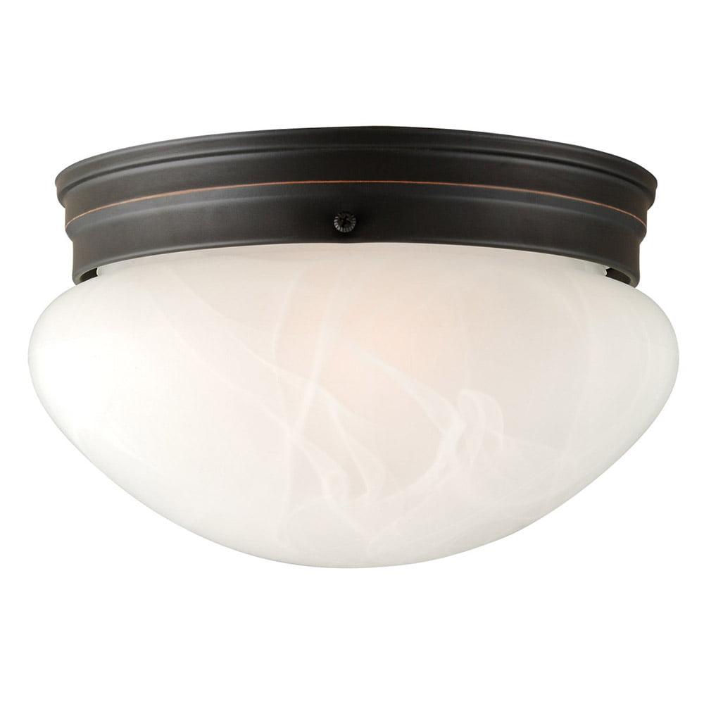 Design House 514539 Millbridge 2-Light Ceiling Light, Oil Rubbed Bronze by Design House