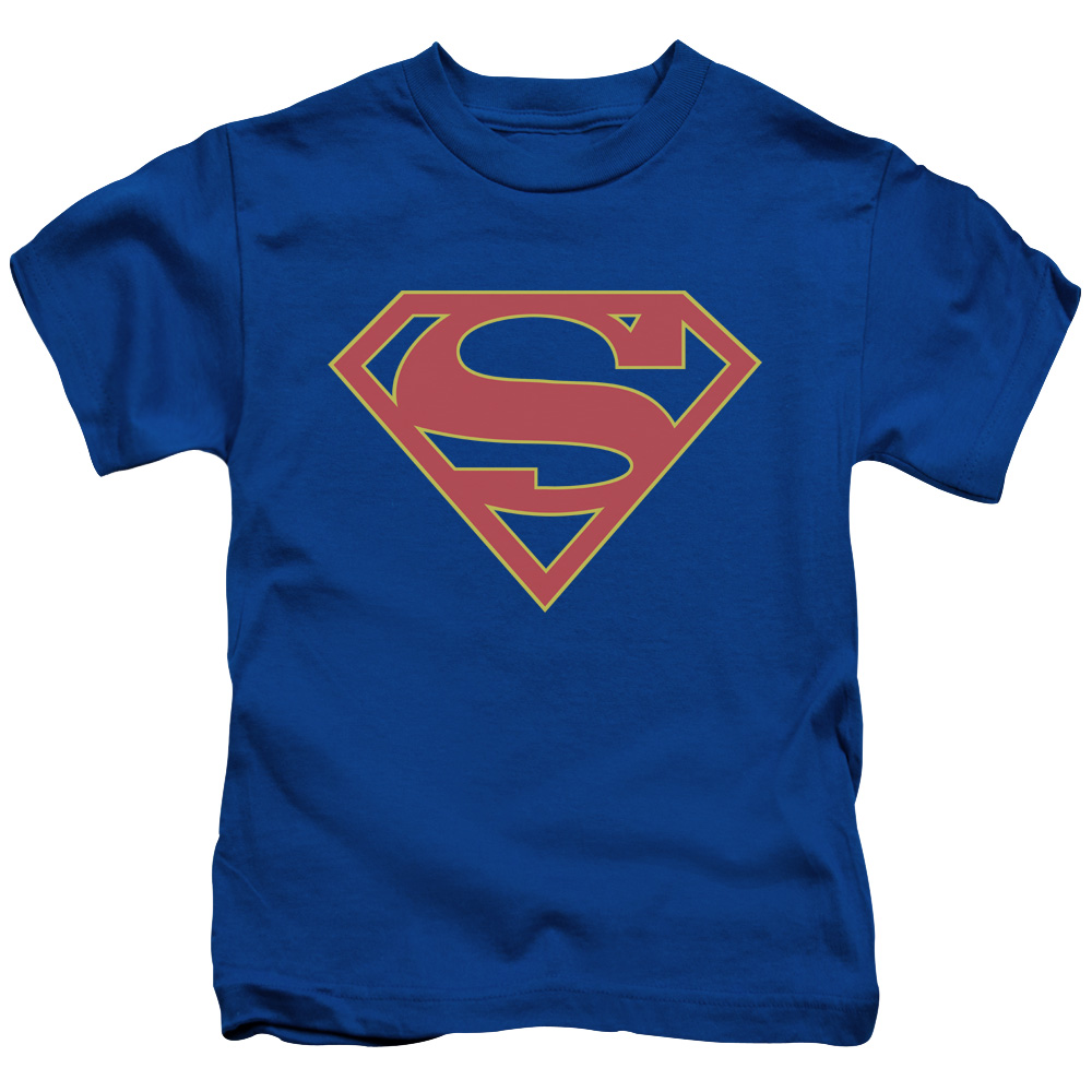 Supergirl Logo Little Boys Shirt