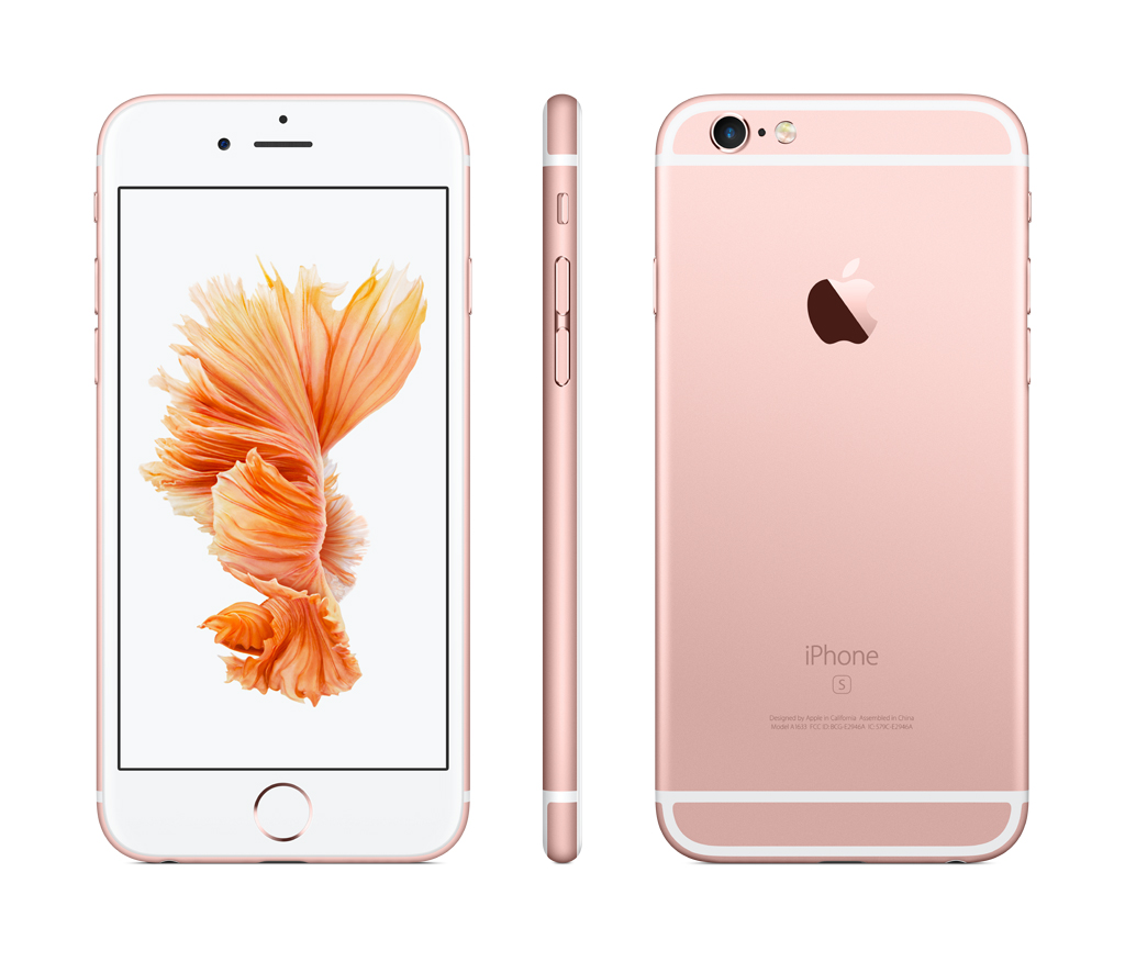 on sale 9abeb 040ec Straight Talk Prepaid Apple iPhone 6s 32GB, Rose Gold