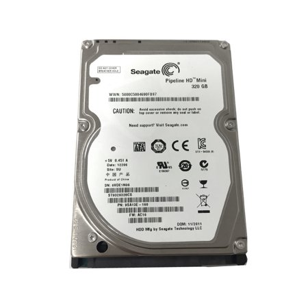 New Seagate 320GB 5400RPM 8MB 2.5
