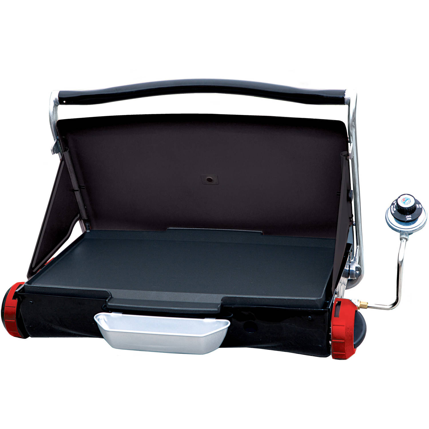George Foreman Camp and Tailgate Portable Propane Grill, GP200R by Spectrum Brands