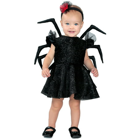Black Widow Baby Halloween (Baby Widow Toddler Costume)
