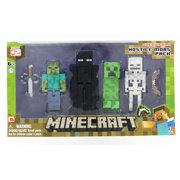 Minecraft Action Figure 4-Pack Hostile Mobs