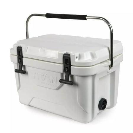 White Arctic Zone Titan 20qt Roto Cooler