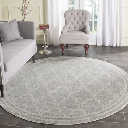 Safavieh Amherst Wesley Geometric Indoor/Outdoor Area Rug or Runner Amherst Collection 3 Light