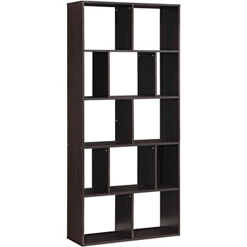 2 Set Of Mainstays Home 12-Shelf Bookcase