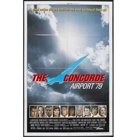 The Concorde Airport 79 Movie Poster (11 x 17)