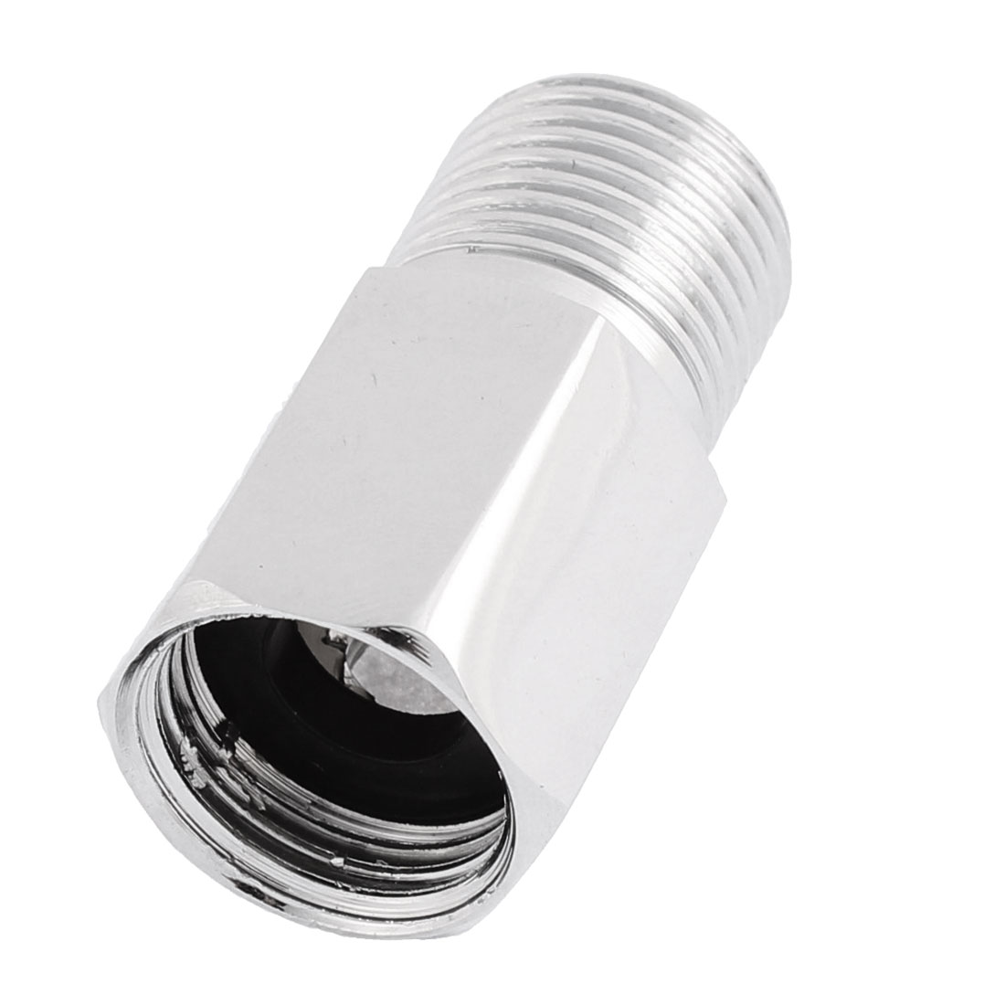 1/2 BSP Male to 1/2 BSP Female Thread Metal Hex Bushing Reducer Fitting Coupler - image 1 of 2
