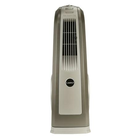 (Lasko Space-Saving HVB Oscillating High Velocity 3-Speed Fan, Model #4924, Gray)