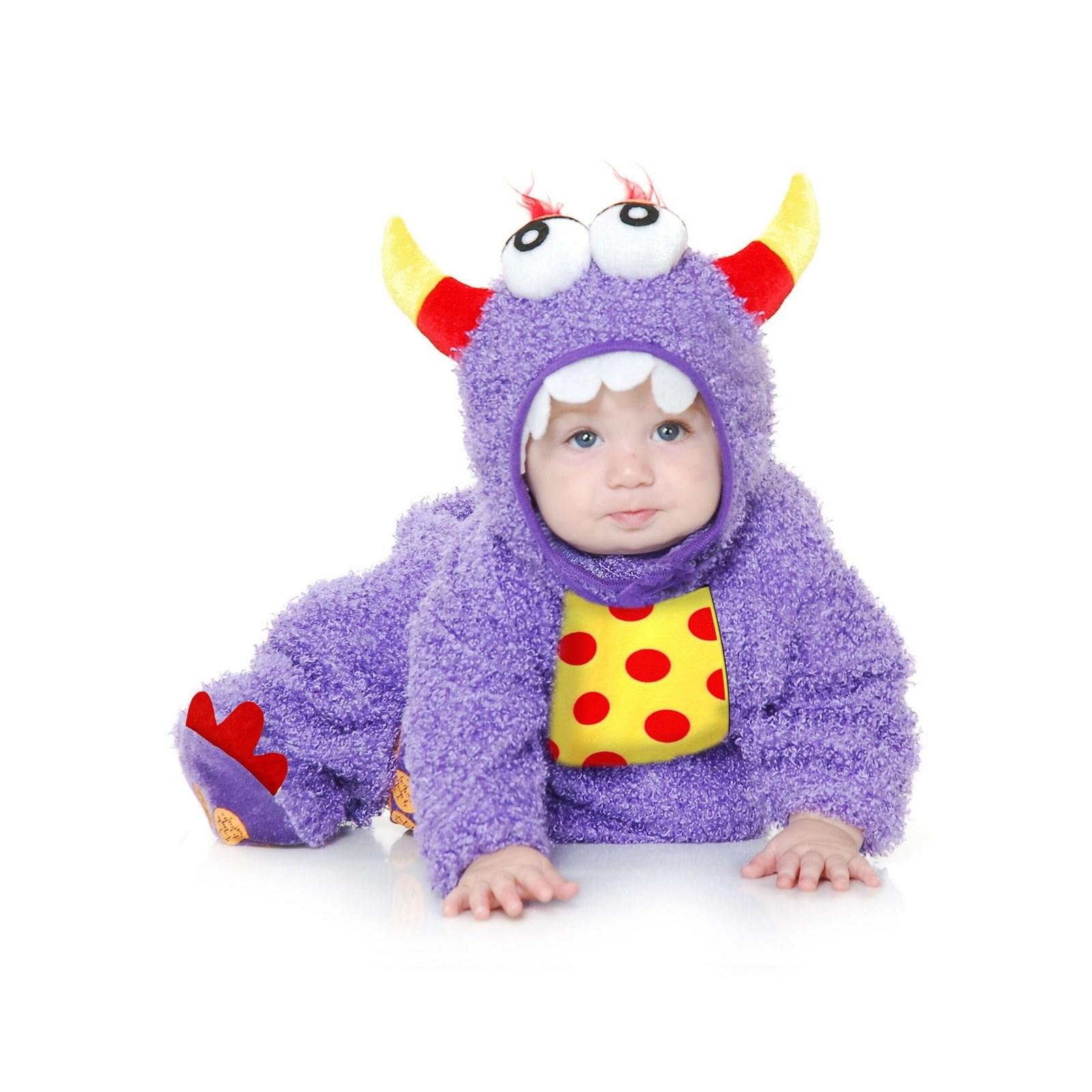 Halloween Little Monster Madness Infant/Toddler Purple